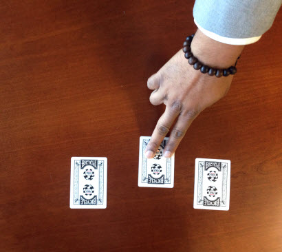 Three-card Monte - Web